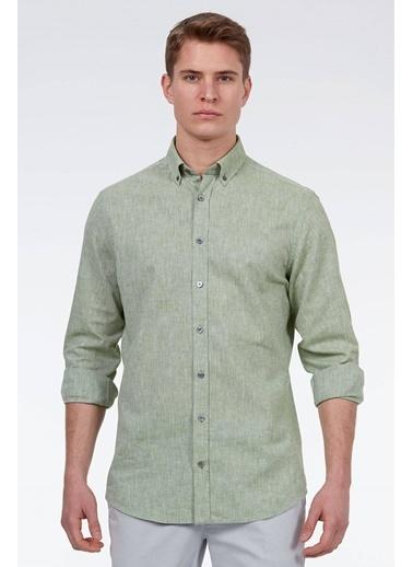 Hemington Uzun Kollu Gömlek Yeşil